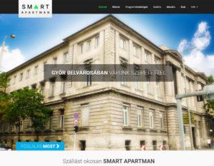 honlapkészítés - smartapartman.hu 2020.